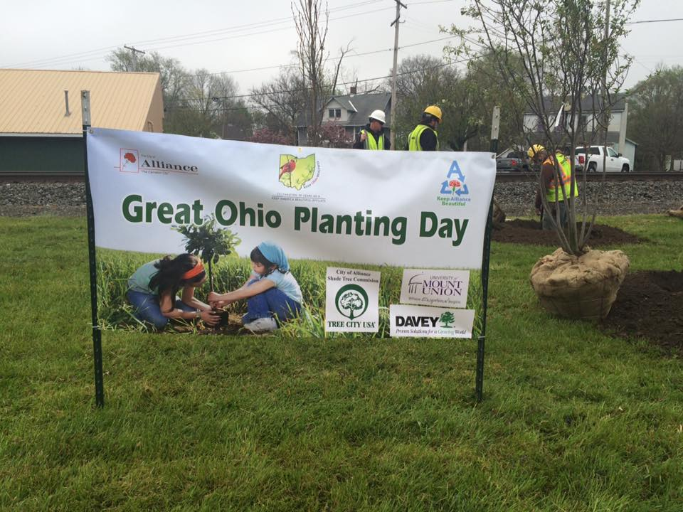 Great Ohio Planting Day Sign